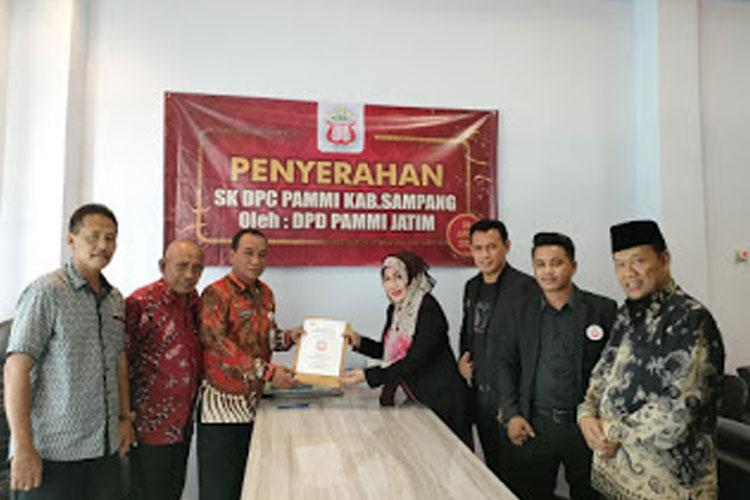H. Marnilem Resmi Menjadi Ketua DPC PAMMI Kabupaten Sampang yang Baru