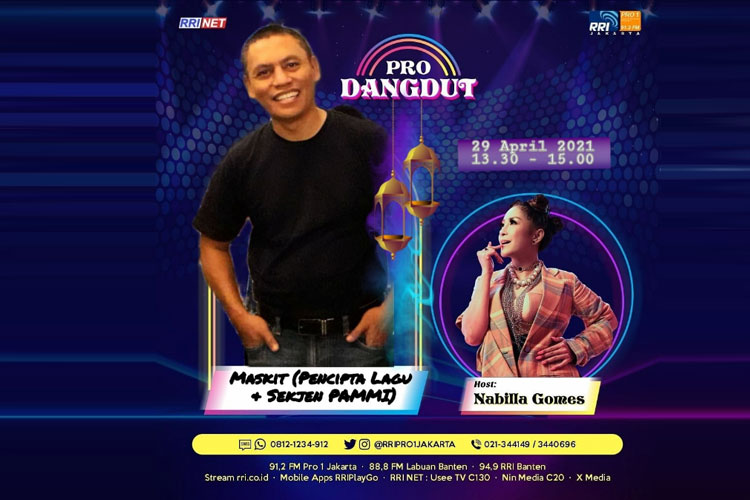 Pro Dangdut LIVE : Talk Show, 29 April 2021, Jam 13.30-16.00