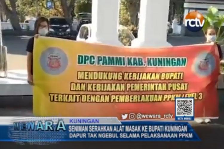 DPC PAMMI Kuningan mendukung kebijakan Bupati dan Pemerintah Pusat